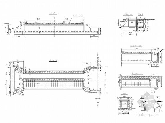 [广西]装配式钢筋砼盖板涵通用图(32张 多跨径)
