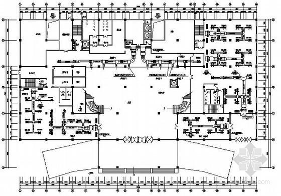 高层酒店中央空调设计施工图
