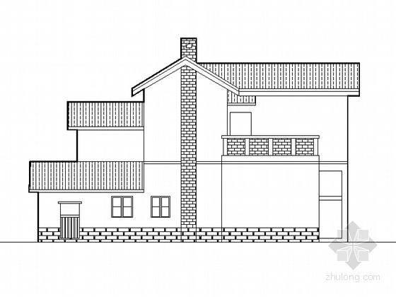 某中式二层农村别墅设计方案