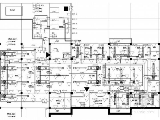 售楼处及附属办公配套用房空调系统设计施工图(地源热泵系统)