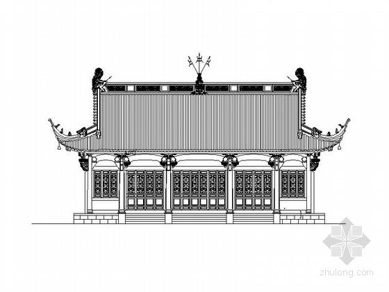 [广州]著名真武大殿复建工程建筑施工图(经典古建)