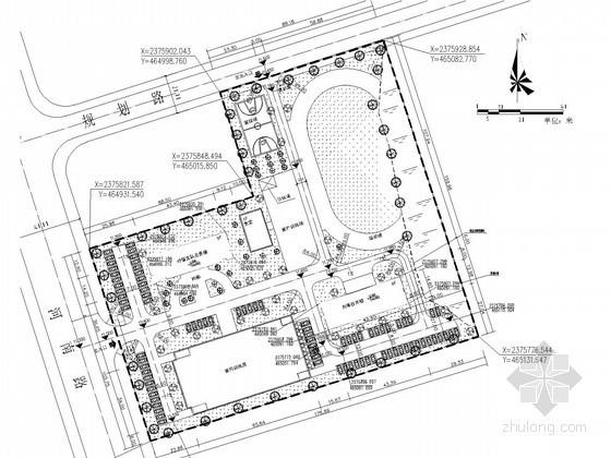 [广西]九层办公楼给排水施工图纸(冷凝水系统、甲级设计院)