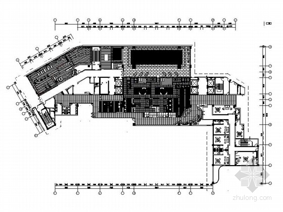 [惠州]全球连锁旅馆品牌典雅超五星级度假酒店康体中心设计施工图(含效果)