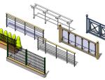 Revit建筑建模之栏杆扶手