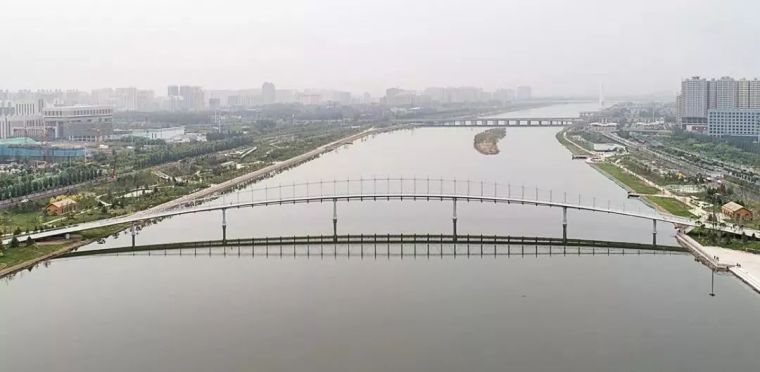 """太原""""汾河之冠""""人行景观桥,尽展结构技艺之美!_18"""