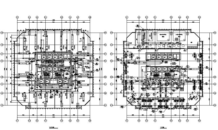 江西50层超高层酒店办公大厦暖通全套施工图(超级详细)_2
