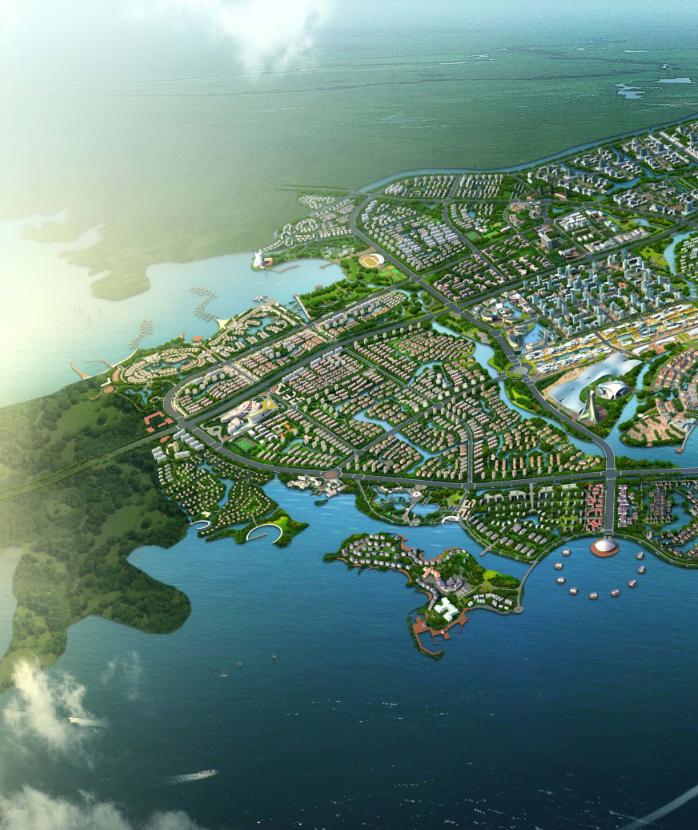 湖北梧桐湖生态创意旅游城景观设计文本(PDF162页)