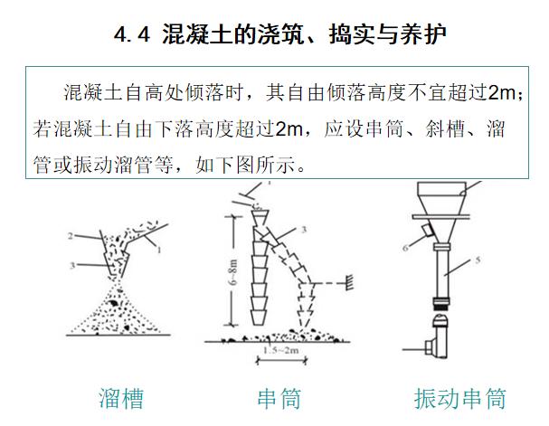 混凝土分项工程施工缝后浇带培训讲义_5