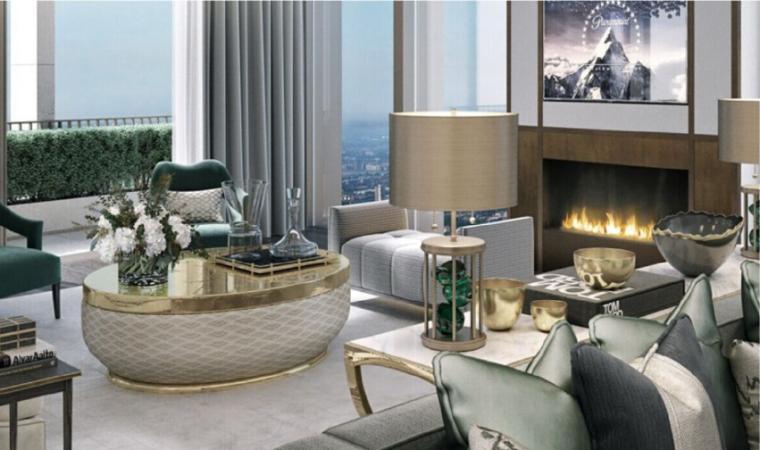 万科雅宾利E户型样板房软装方案丨灯具&地毯&装饰画报价清单