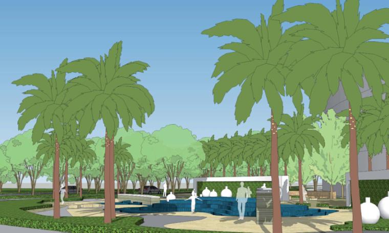 [海南]三亚绿城酒店景观设计方案