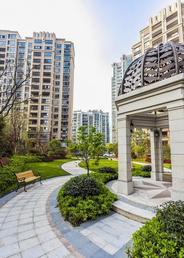 上海中海万锦城三期ArtDeco风格居住区景观设计_5