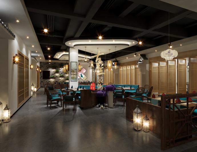 成都中餐厅装修设计公司-《徽州人家特色餐厅》-古兰装饰-徽州人家特色餐厅4.jpg
