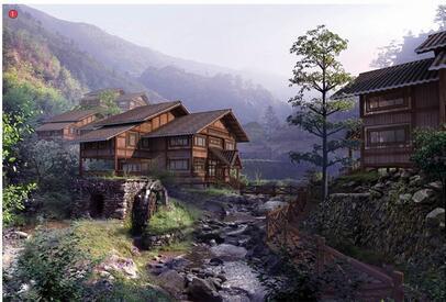 [安徽]黄山风景区钓桥景区详细规划设计方案文本
