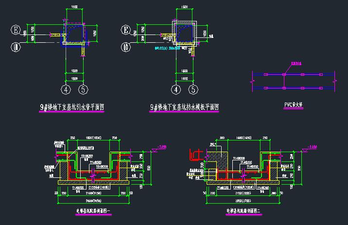 别墅新增加电梯加固结构设计图_2