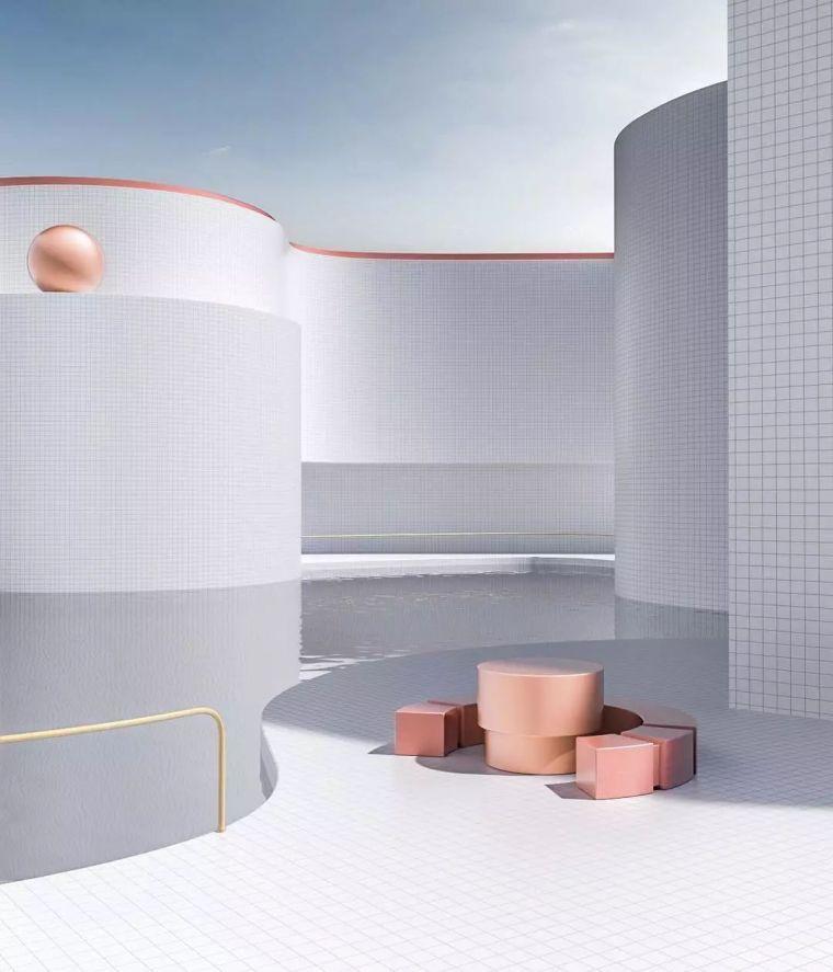 建筑设计中的点线面_22