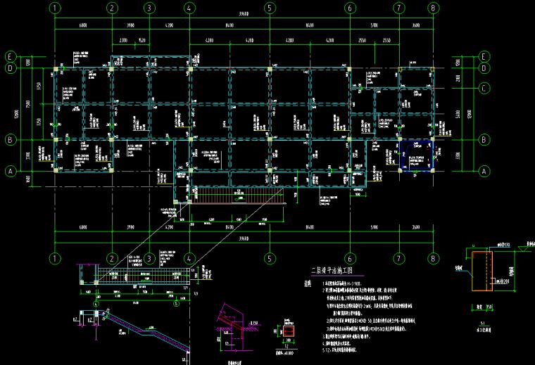 污水提升泵站厂房工程平法施工图