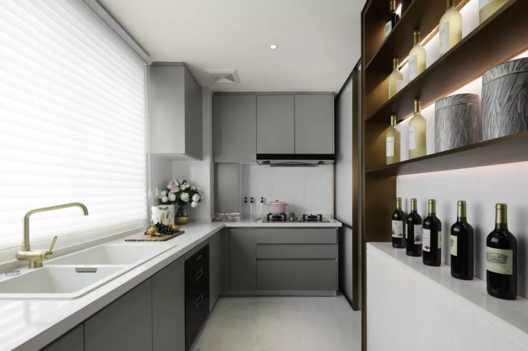 厨房比客厅还好看,让你爱上做饭!!_7