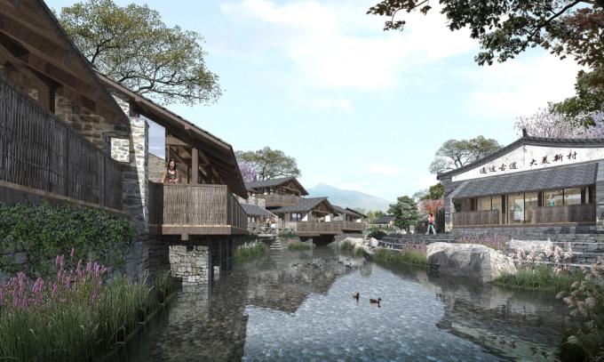[河北]山野乡居滨水生态美丽乡村景观改造设计方案(2017最新)