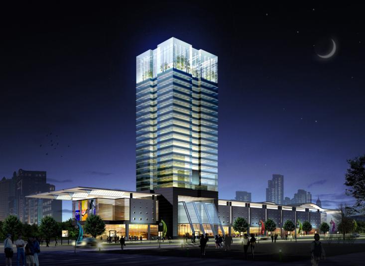 [辽宁]大连新开路东侧地块整体规划设计方案