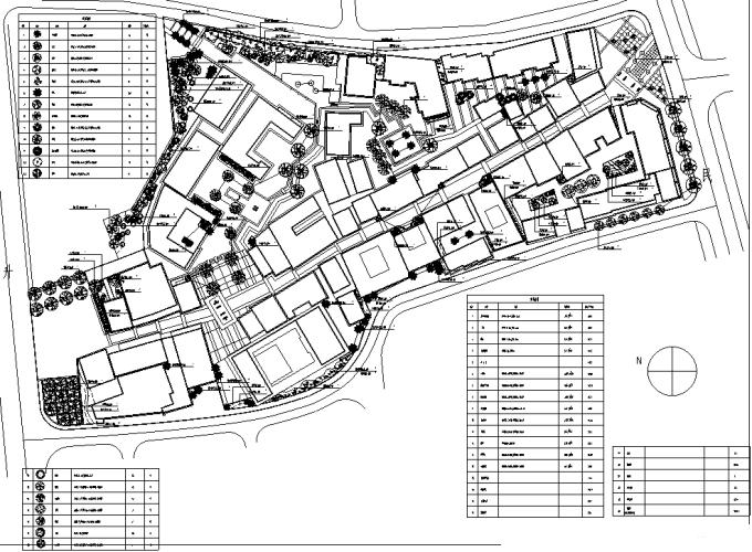 [浙江]亚太区文化遗产保护历史老街传统街区景观设计施工图