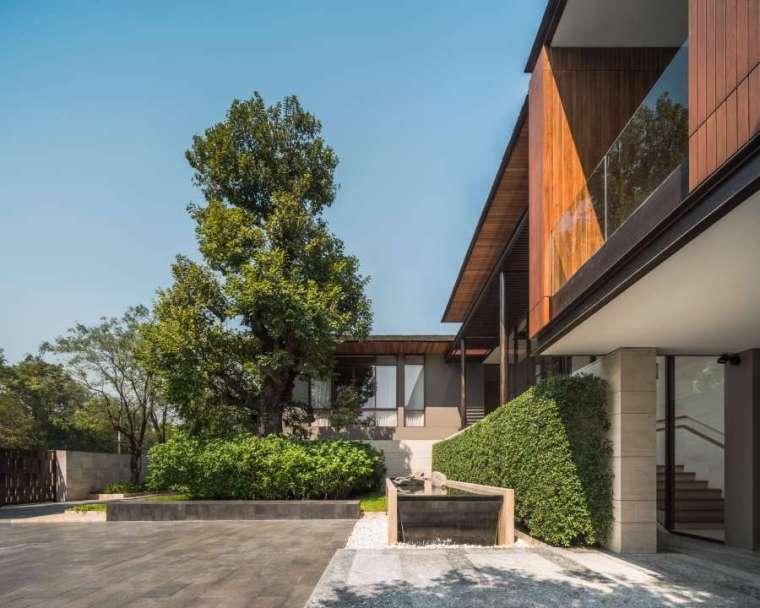 泰国私人住宅花园景观