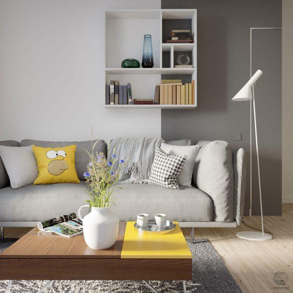 实用的小公寓装修效果图