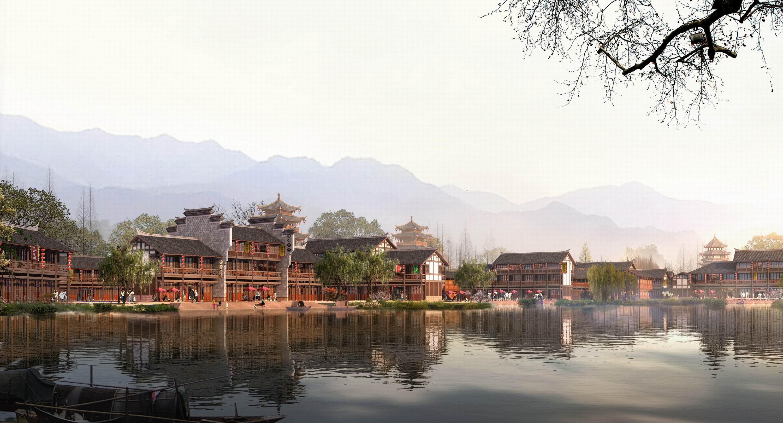 深圳青林古镇总体规划-1