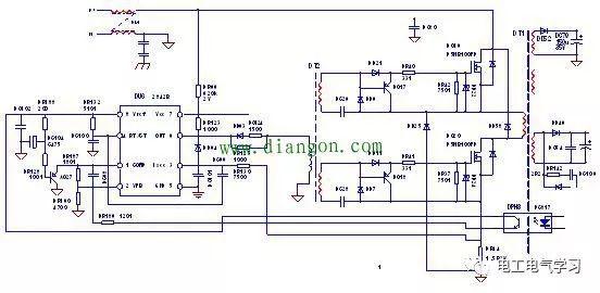 在变频器电路图中藏身最深的元件有哪些?