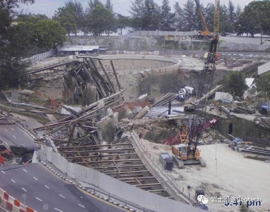地铁基坑倒塌当天发生了什么?新加坡NicollHighway基坑倒塌纪实_21