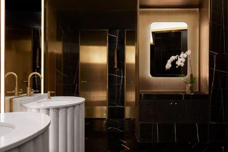 迪拜地标旁的2000平米超大餐厅,精致细节成就奢华设计_19