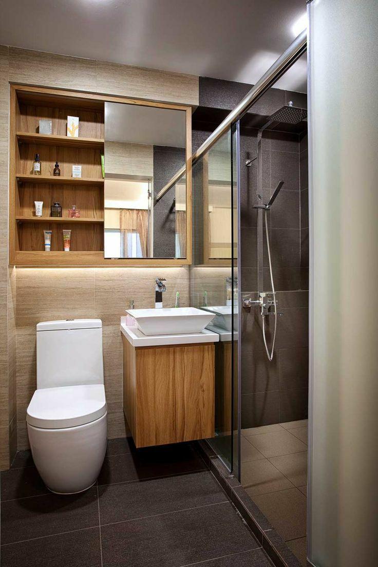 卫生间无法四室分离?这20个干湿分离方案很受欢迎!_15