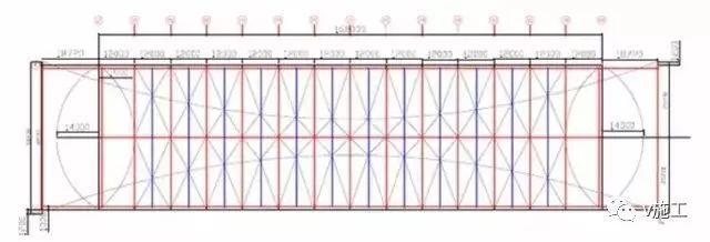 大跨度拱形钢结构安装施工工艺