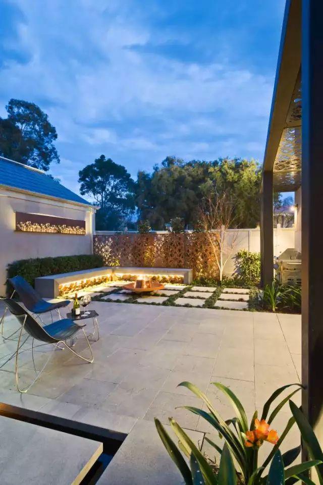 赶紧收藏!21个最美现代风格庭院设计案例_143