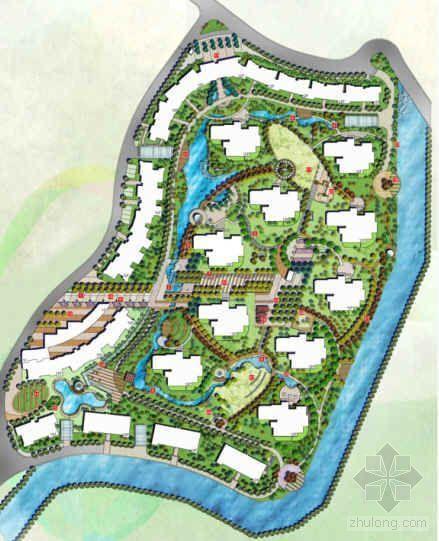 杭州小区景观设计文本全套