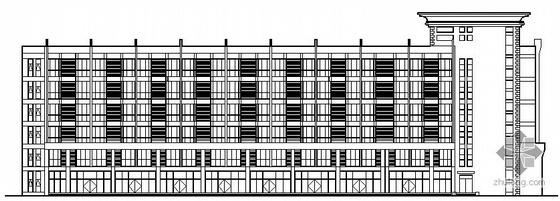 某六层员工宿舍建筑施工图