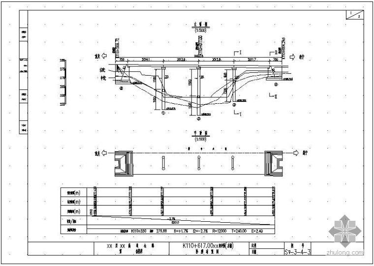 简支转连续预应力混凝土空心板桥图纸