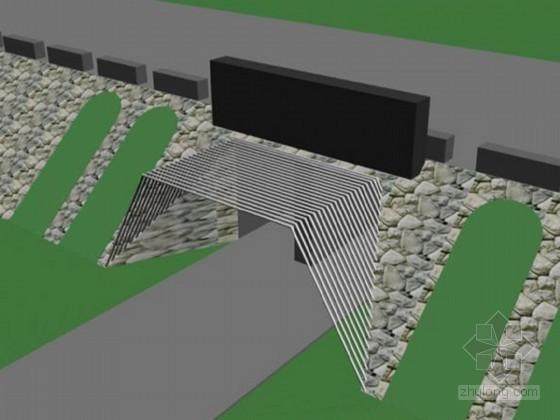 岸坡加固处理资料下载-排洪涵洞加固施组设计