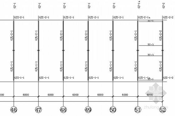 [北京]某门式刚架结构宿舍楼结构施工图