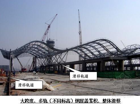 [广东]干煤棚网架结构液压滑移方案