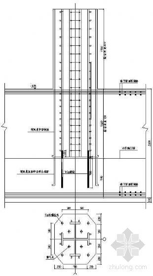劲性钢骨混凝土柱施工工法
