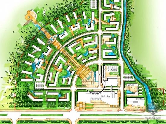[珠海香洲]某工业园配套住宅规划建筑方案文本