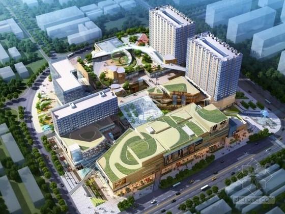 [深圳]生态艺术体验商业中心景观设计方案