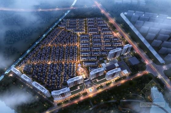 [江苏]高层塔式住宅楼及小高层别墅建筑设计方案文本