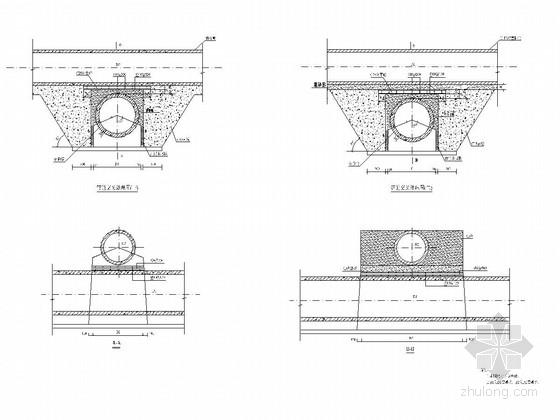 [浙江]市政道路排水工程施工图设计18张
