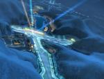 夜色山间建筑3D模型下载
