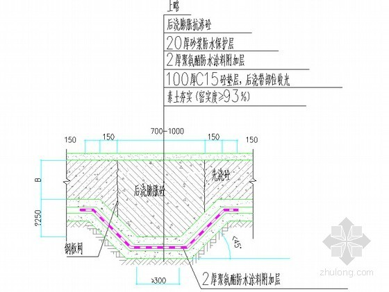 [深圳]高层住宅楼防水施工专项方案(附详细构造做法及节点图)