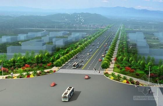[广东]2015年园区新建二级道路工程量清单计价实例(含施工图纸120张)