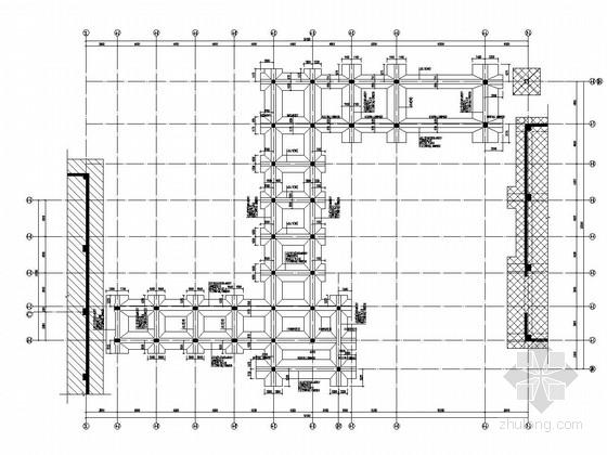 3种医院大楼间连廊结构施工图