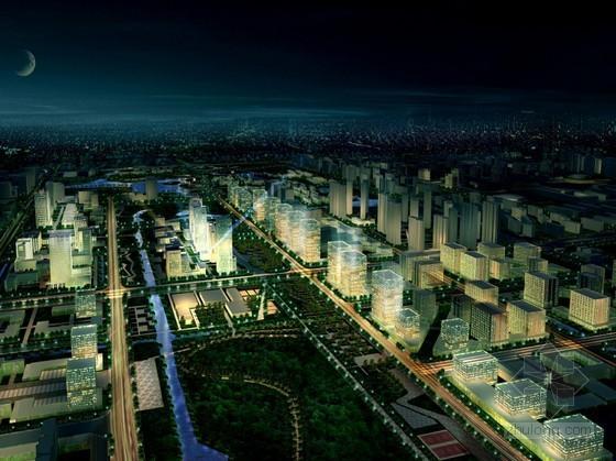 [嘉定]某新城中心区概念性城市设计