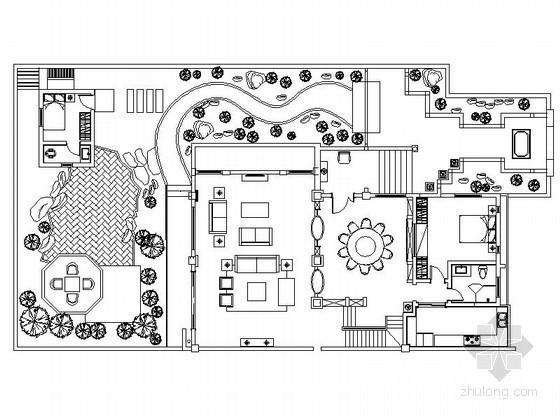 经典三层单体花园别墅室内装修图(含效果)